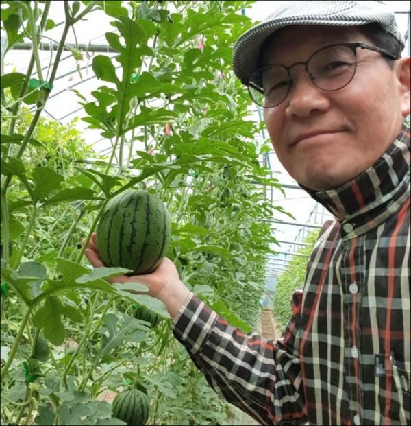 장흥 친환경애플수박 재배농가 이상환씨.jpg