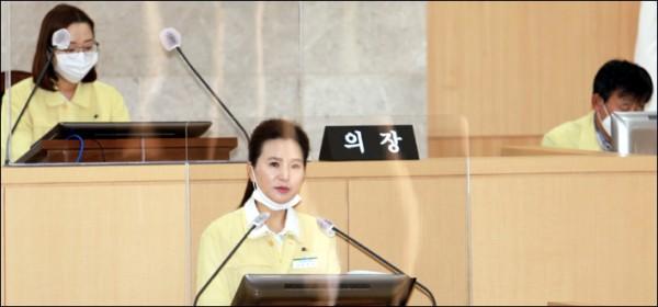 남구의회 하주아 의원, 구정질문실시(20.10.23.).jpg